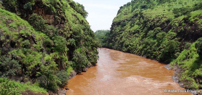 Rafting sur la rivière Omo
