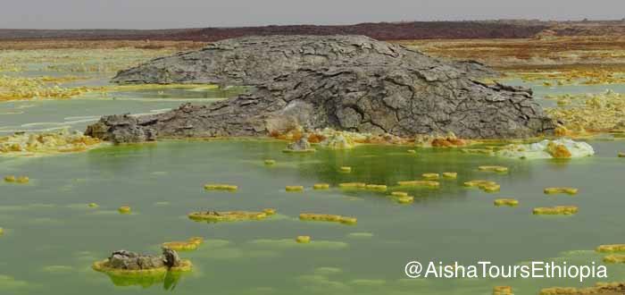 Danakil Depression Erta Ale and Dallol
