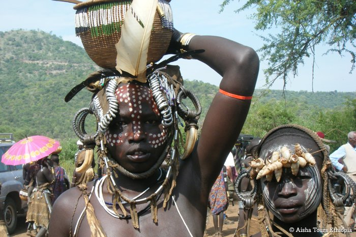 The Mursi people
